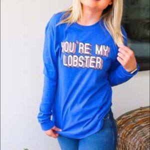 Jadelynn Brooke t-shirt Friends you're my lobster